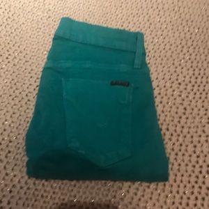 Hudson green jeans